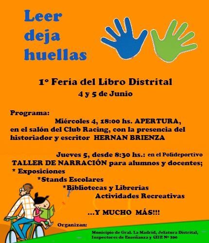 1º Feria del Libro Distrital